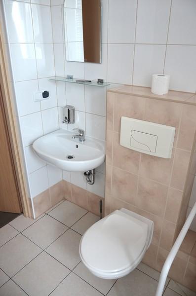 Łazienka w pokoju do nocowania