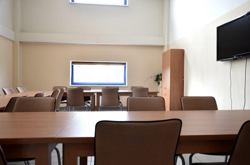 Sala konferencyjna od środka